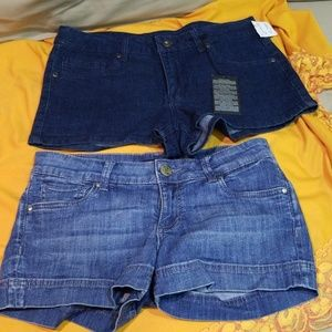 Jean shorts size 27 and 29